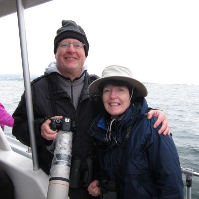 Pelagic trip with my wife on Monterey Bay