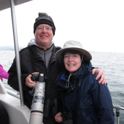 Pelagic trip with my wife on Monterey Bay