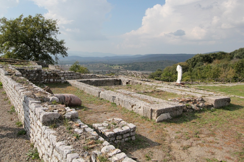 View from Russellae ruins toward Lacus Prelius