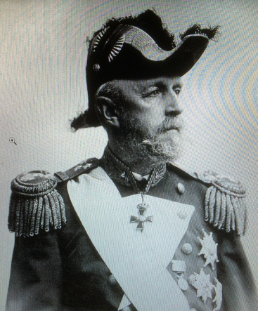 King Oscar II of Sweden