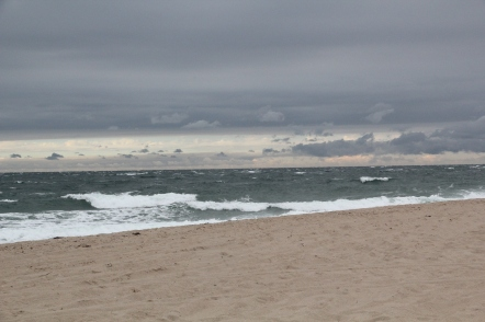 Approaching storm at Great Point